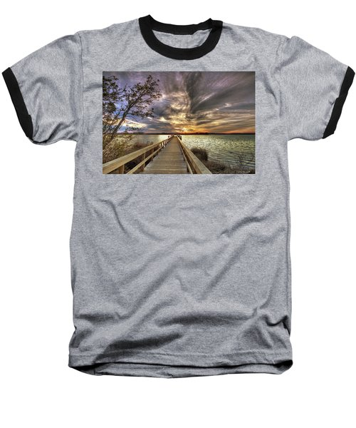 Down By The River Baseball T-Shirt