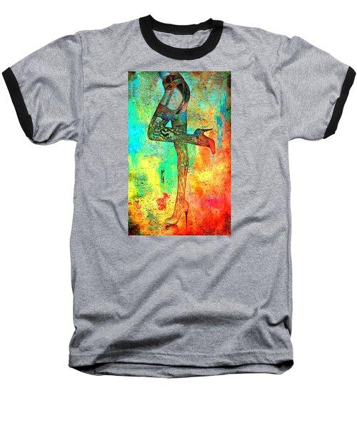 Down Hoser Baseball T-Shirt by Greg Sharpe