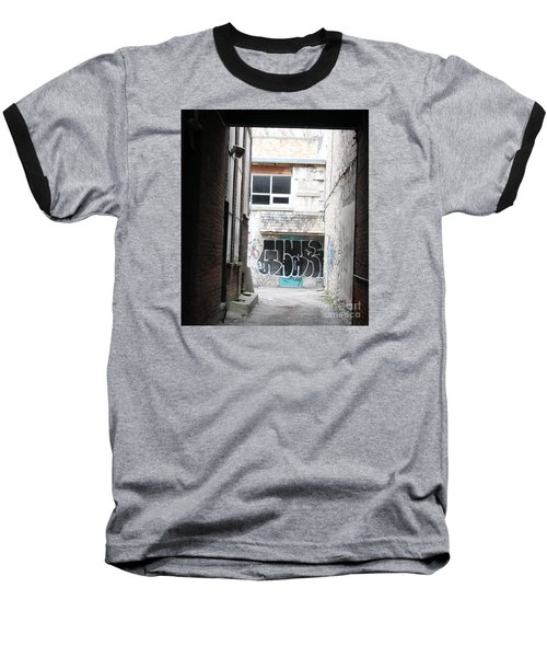 Down In The Alley Baseball T-Shirt