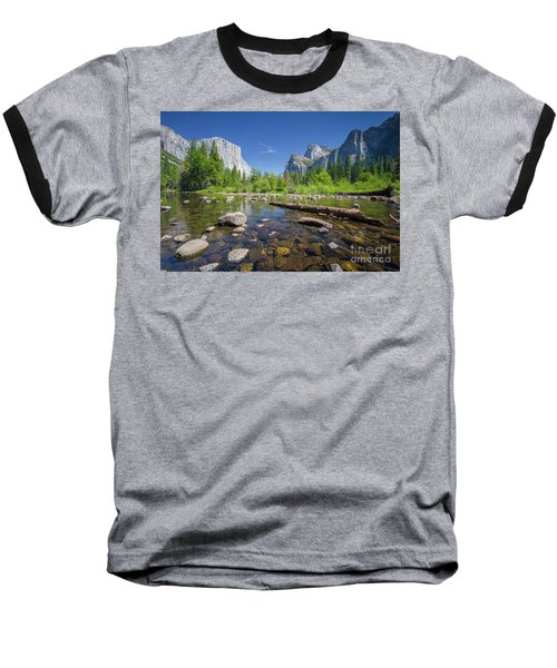 Down In The Valley Baseball T-Shirt by JR Photography