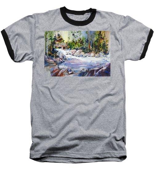 Down Stream On Hoppers Creek Baseball T-Shirt