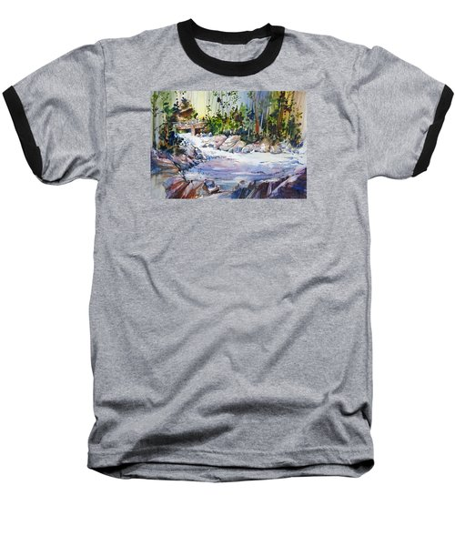 Down Stream On Hoppers Creek Baseball T-Shirt