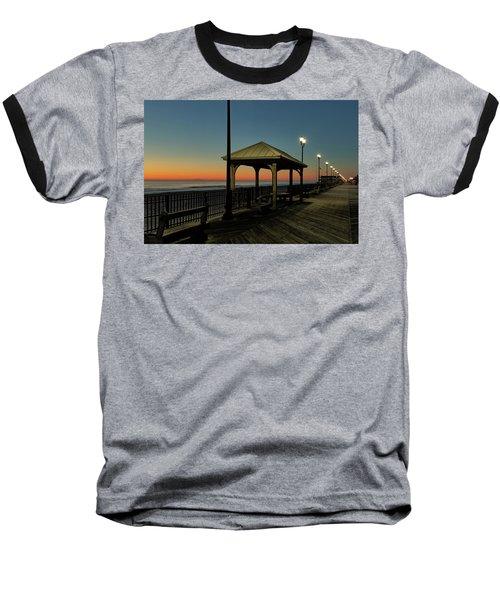 Down The Shore At Dawn Baseball T-Shirt