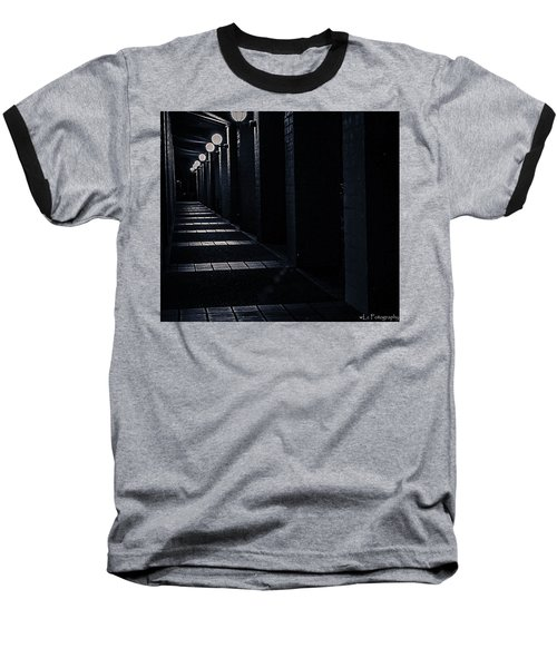 Down The Walkway Baseball T-Shirt