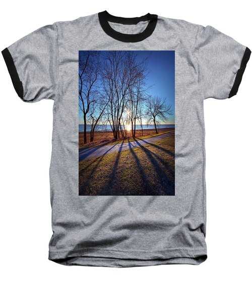 Baseball T-Shirt featuring the photograph Down This Way We Meander by Phil Koch