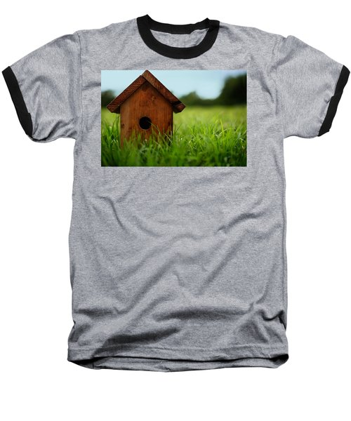 Baseball T-Shirt featuring the photograph Down To Earth by Laura Fasulo