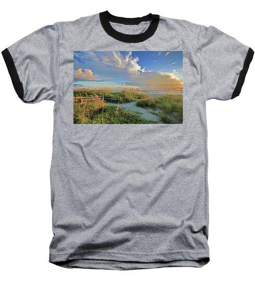 Down To The Beach 2 - Florida Beaches Baseball T-Shirt