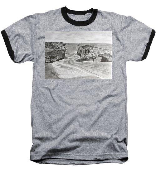 Down Under  Baseball T-Shirt by Tony Clark