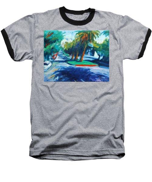 Downhill Baseball T-Shirt by Rick Nederlof
