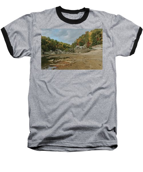 Downstream From Cumberland Falls Baseball T-Shirt