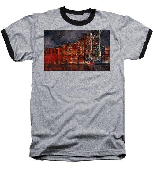 Downtown Baseball T-Shirt by Alex Galkin