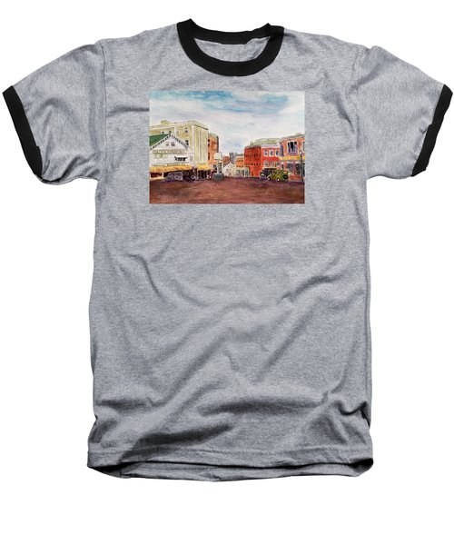 Downtown Amesbury Ma Circa 1920 Baseball T-Shirt