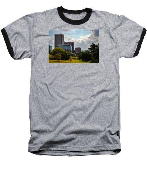Downtown Beauty Baseball T-Shirt