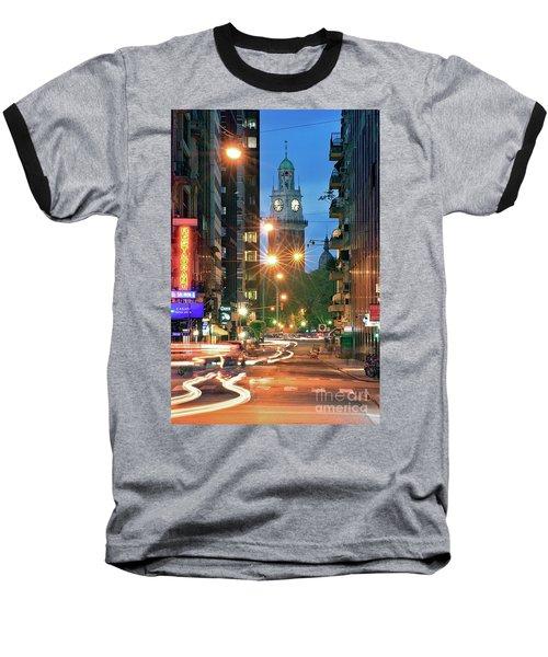 Baseball T-Shirt featuring the photograph Downtown by Bernardo Galmarini