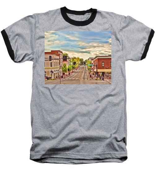 Downtown Blacksburg Baseball T-Shirt