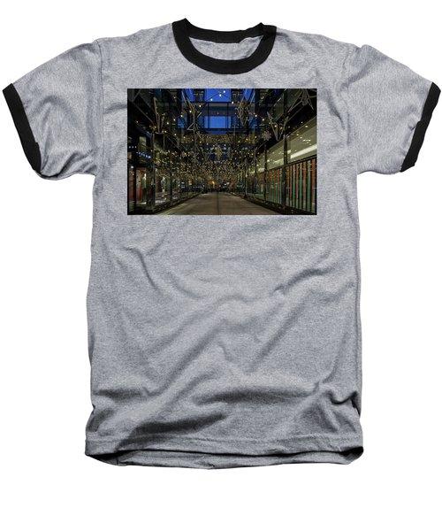 Downtown Christmas Decorations - Washington Baseball T-Shirt