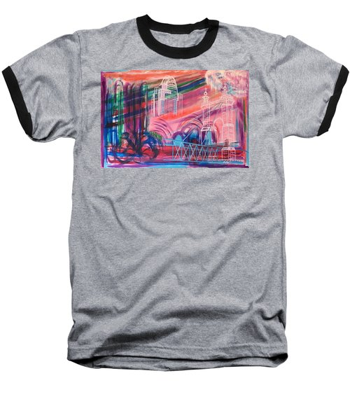 Downtown Cincinnati Baseball T-Shirt