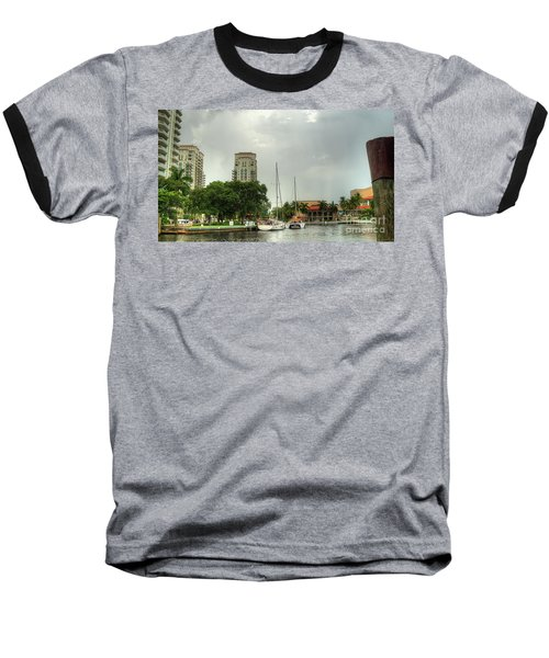 downtown Ft Lauderdale waterfront Baseball T-Shirt