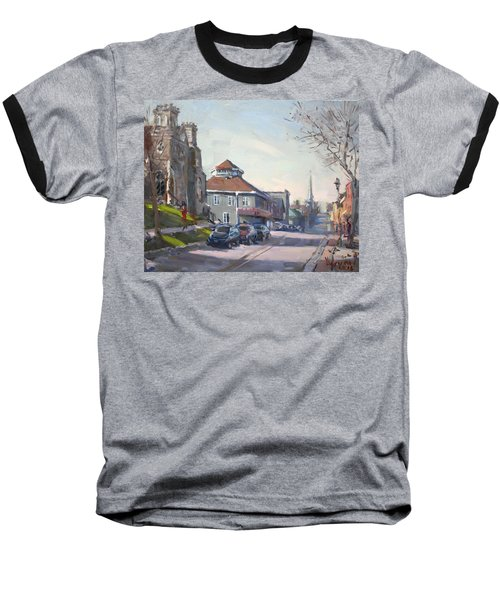 Downtown Georgetown On Baseball T-Shirt