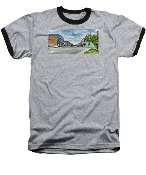 Downtown Hamlet Baseball T-Shirt