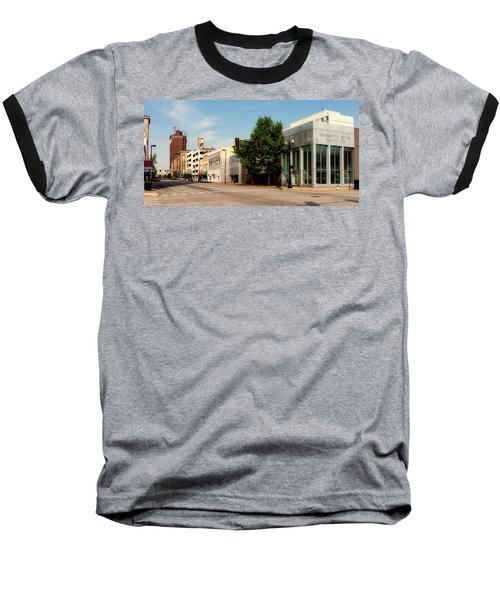 Downtown Huntington West Virginia Baseball T-Shirt by L O C