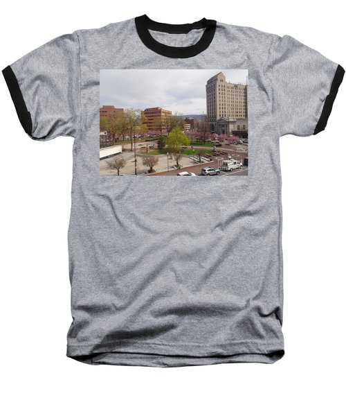 Downtown In Springtime Baseball T-Shirt