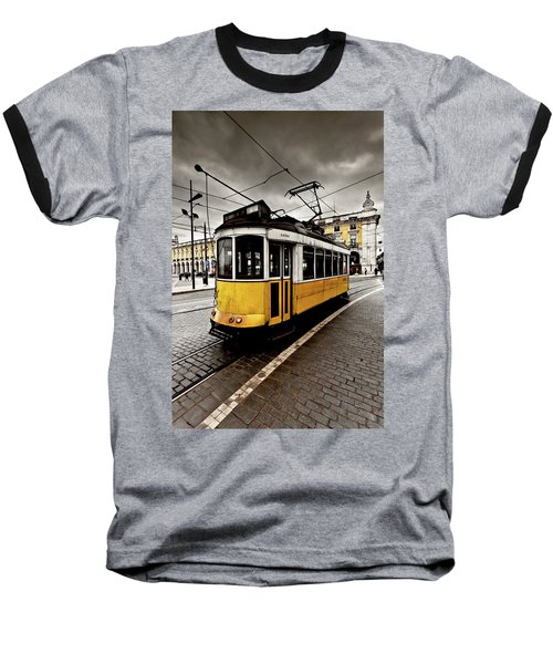Baseball T-Shirt featuring the photograph Downtown by Jorge Maia