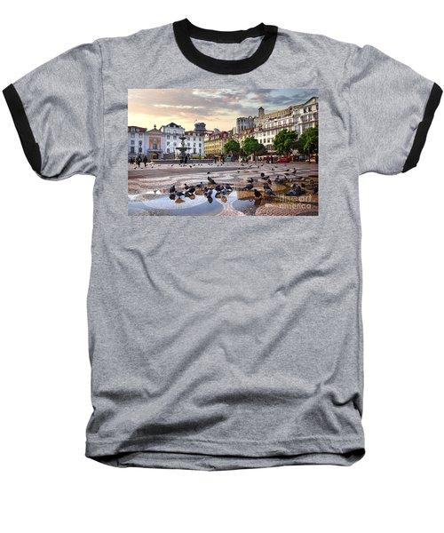 Downtown Lisbon Baseball T-Shirt