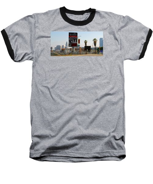 @downtown Los Angeles Baseball T-Shirt