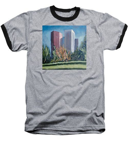 Downtown Los Angeles Baseball T-Shirt