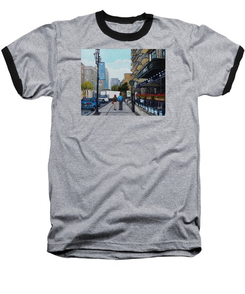 Downtown Montreal Baseball T-Shirt