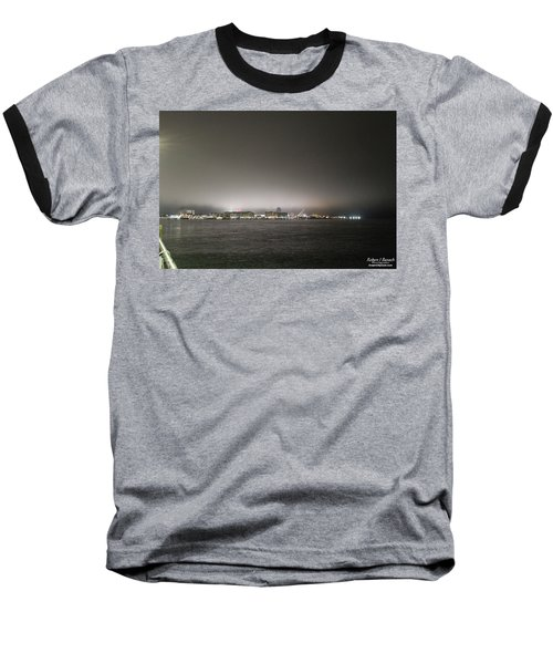 Downtown Oc Skyline Baseball T-Shirt