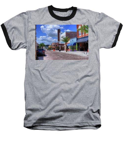 Downtown Ocala Theatre Baseball T-Shirt