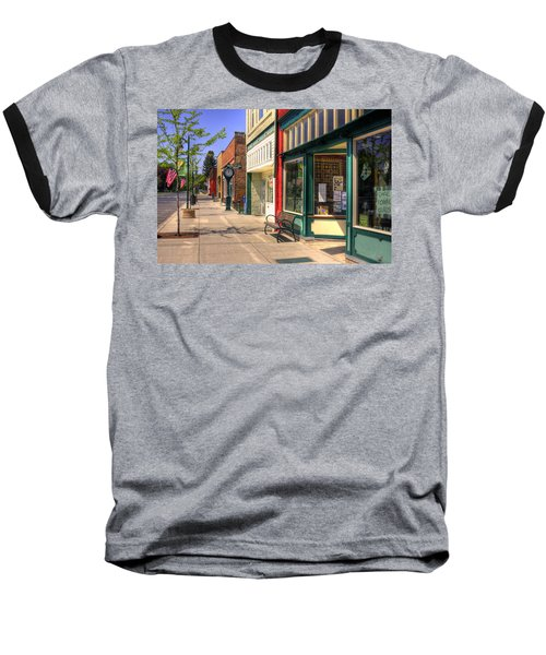 Downtown Palouse Washington Baseball T-Shirt