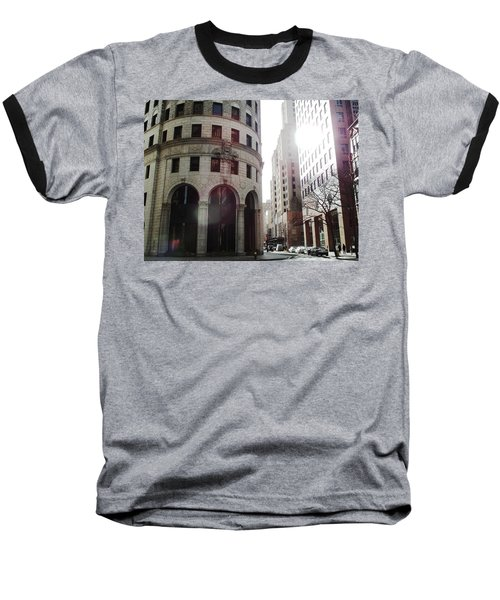 Downtown Providence Baseball T-Shirt
