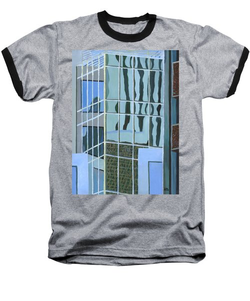 Downtown Reflections Baseball T-Shirt