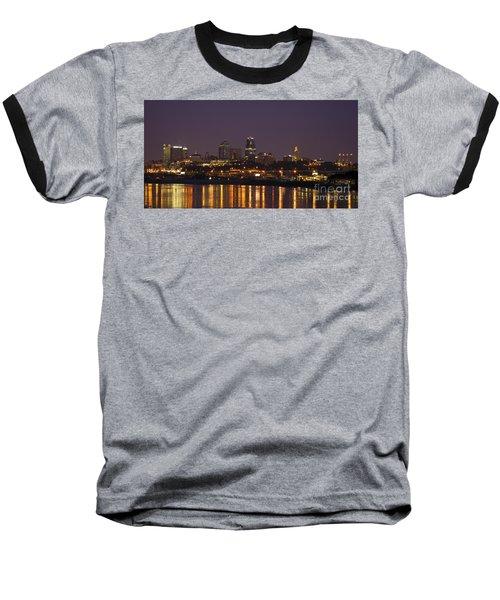Downtown Reflections Baseball T-Shirt