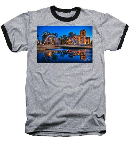 Downtown San Diego Waterfront Park Baseball T-Shirt