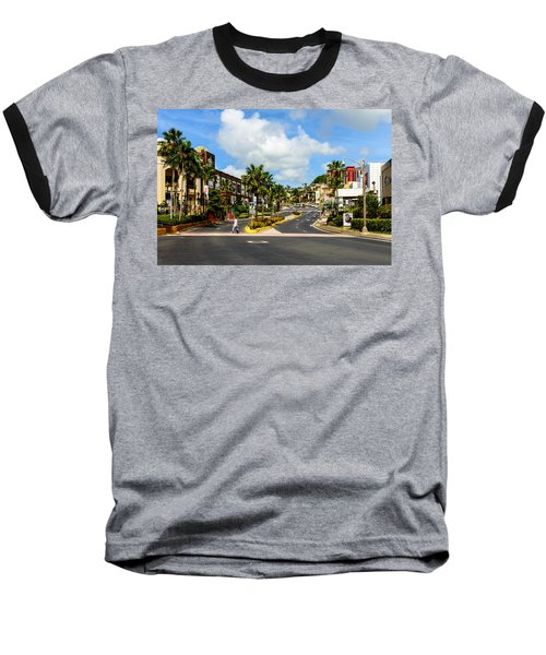 Downtown Tamuning Guam Baseball T-Shirt
