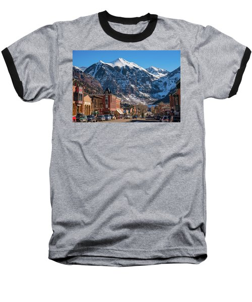 Downtown Telluride Baseball T-Shirt