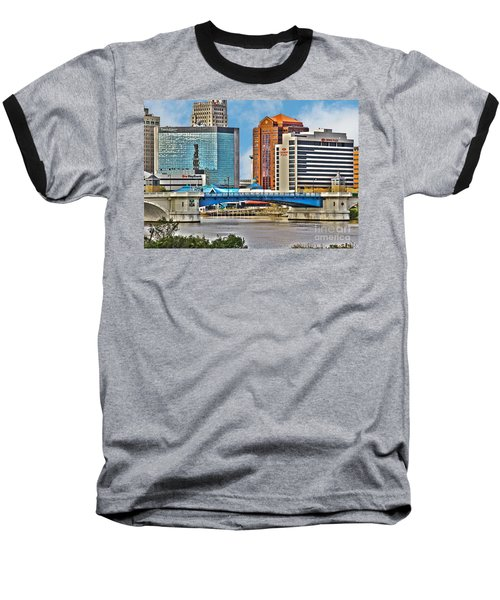 Downtown Toledo Riverfront Baseball T-Shirt