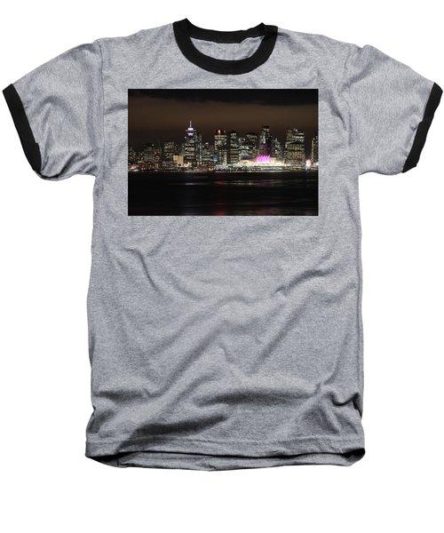 Downtown Vancouver Baseball T-Shirt