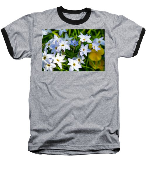 Downtown Wildflowers Baseball T-Shirt