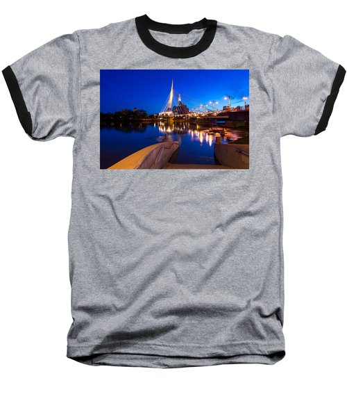 Downtown Winnipeg Baseball T-Shirt