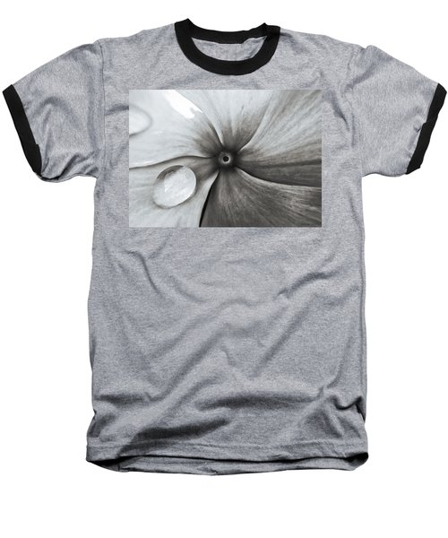 Downward Spiral Baseball T-Shirt