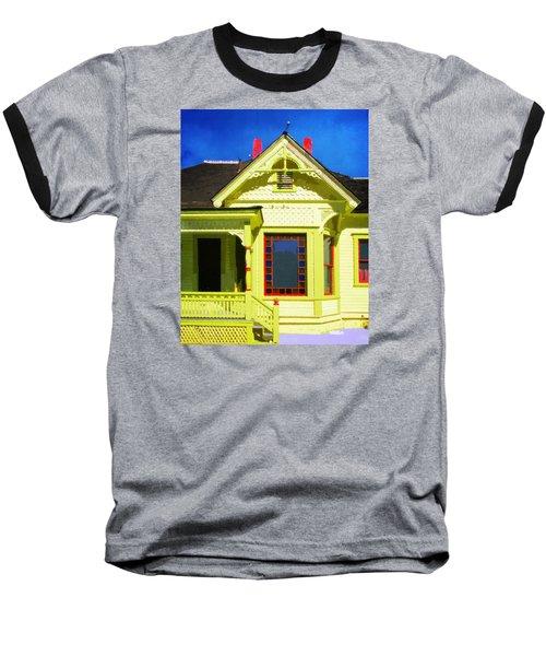 Dr. Clark's House 2 Baseball T-Shirt by Timothy Bulone