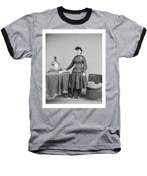 Dr. Mary Walker Baseball T-Shirt