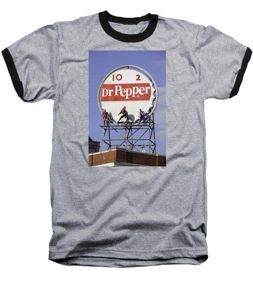 Dr Pepper And The Avengers Baseball T-Shirt