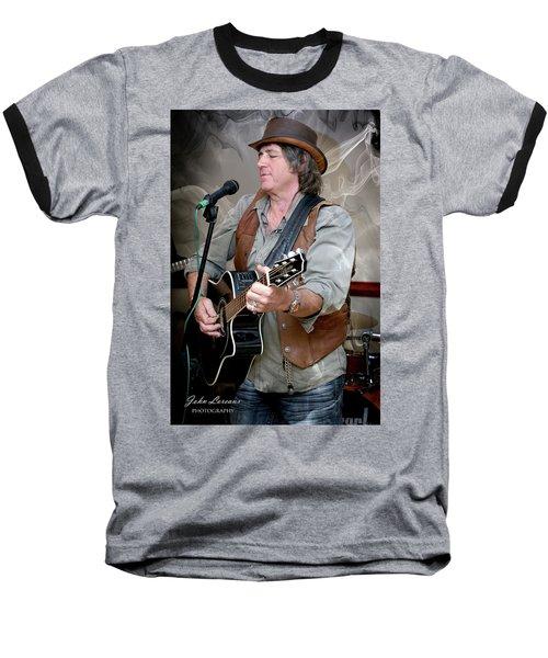 Dr. Phil Baseball T-Shirt by John Loreaux