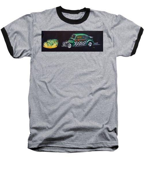 Drag Racing Vw Baseball T-Shirt